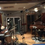 dMU recording session at East Side Sound, NYC. With Josh Sinton and Mike Caratti. April 2016.